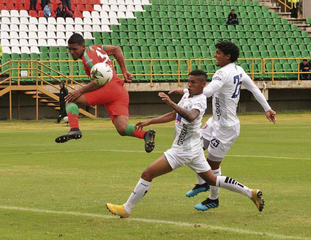Patriotas se fue en ventaja con anotación de Norbey Salazar y empató Magdalena con gol de Juan Villota.