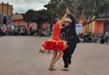 danza en pareja
