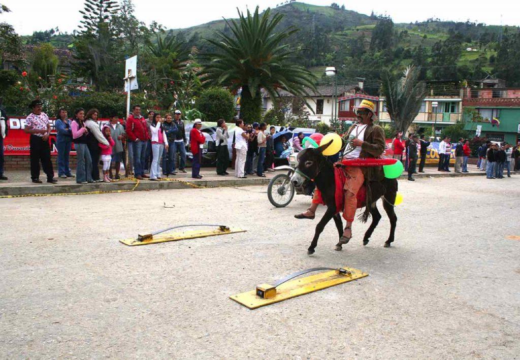 Festival de la arriería en Tibaná Boyacá