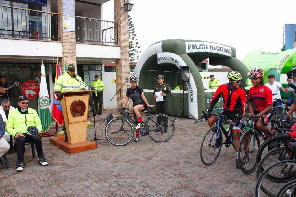 Con la carnetización la Policía podrá identificar a los usuarios y a las bicicletas que circulen en Boyacá.