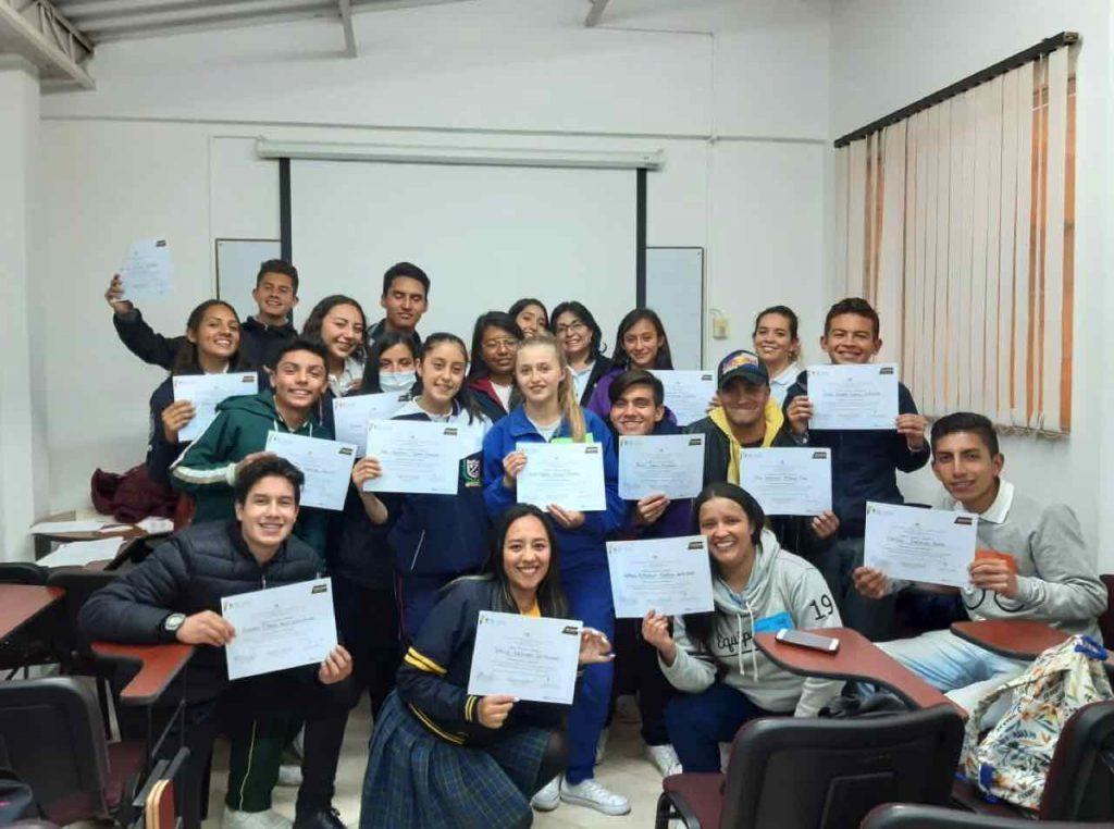 Personeros de jardìn, primaria y secundaria participaron en taller.
