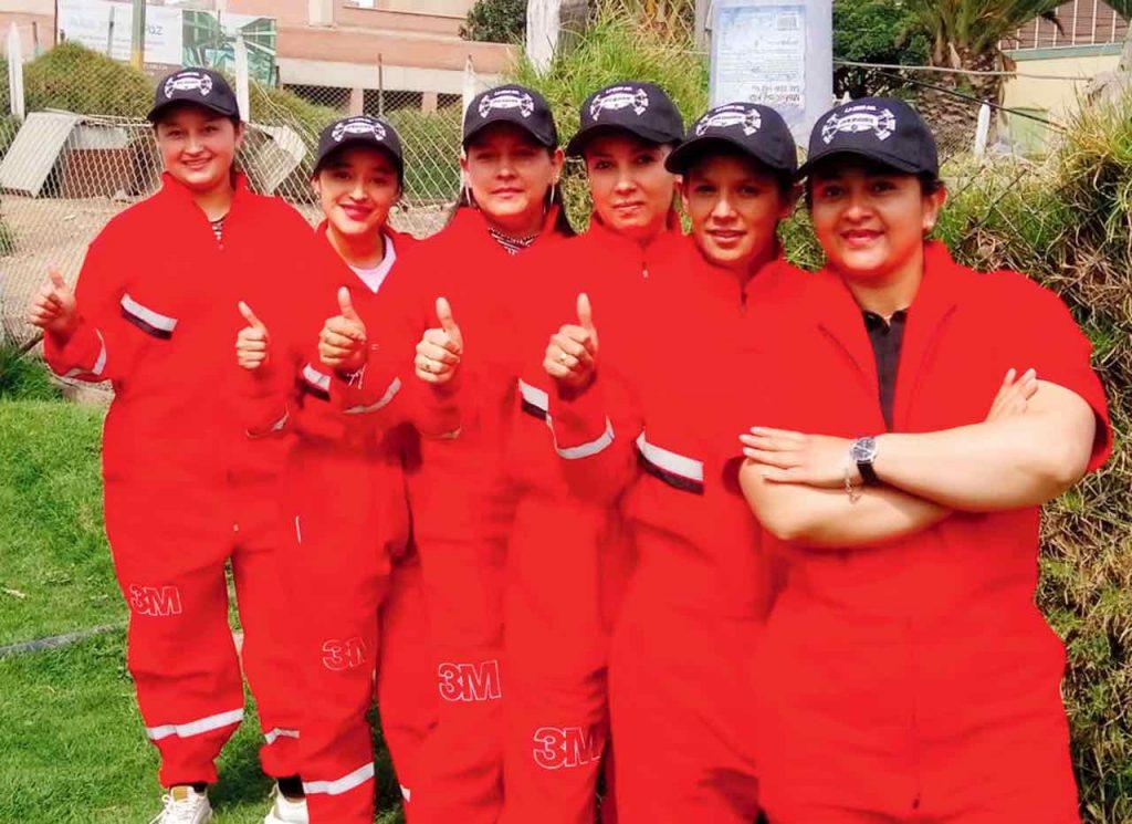 Diez mujeres de diferentes regiones del país participaron de la primera versión de la Gran Copa de Habilidad y Destreza Tractomulas.