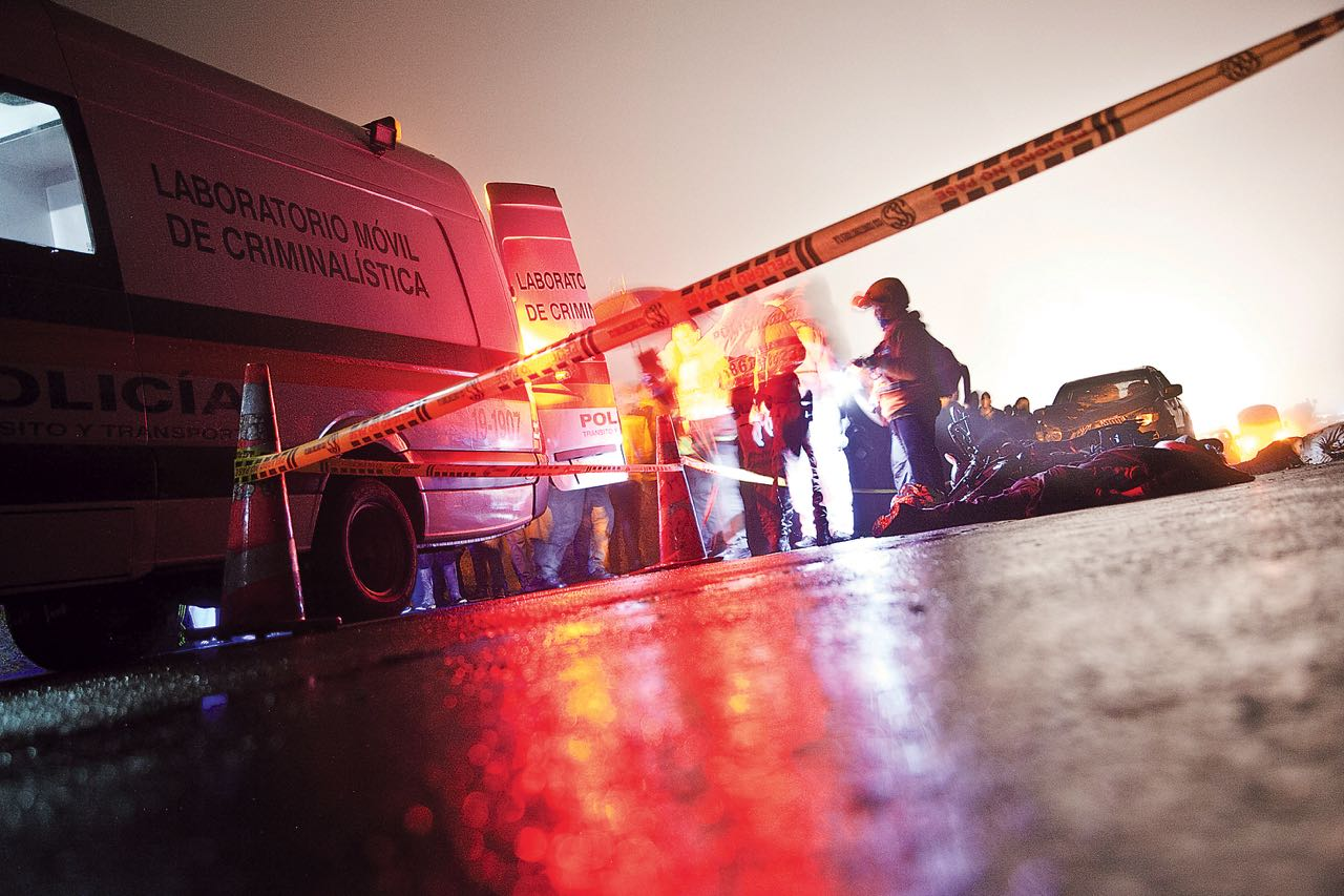 El accidente fue reportado hacia las 2:50 de la mañana del pasado miércoles en la vía Duitama-Tibasosa.
