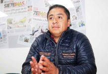 Oswaldo Pérez candidato a la Alcaldía de Monguí