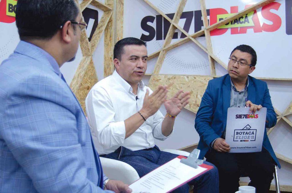 Giovani Pinzón candidato a la Gobernación en la #UltimaEntrevista