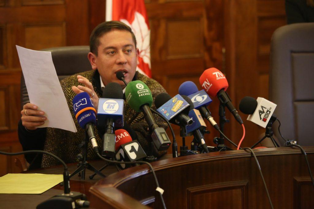 El Gobernador demandó por injuria y calumnia a exsenador boyacense 2