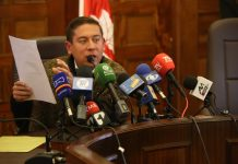Gobernador Amaya demandó a Rigoberto Barón