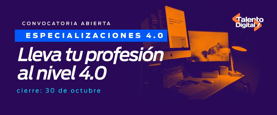 Profesión a nivel 4.0