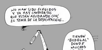 Caricatura Miércoles 16 de Octubre de 2019