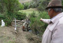 En el sector quedó prohibida la captación, explotación minera en sectores aledaños, siembra y ganadería