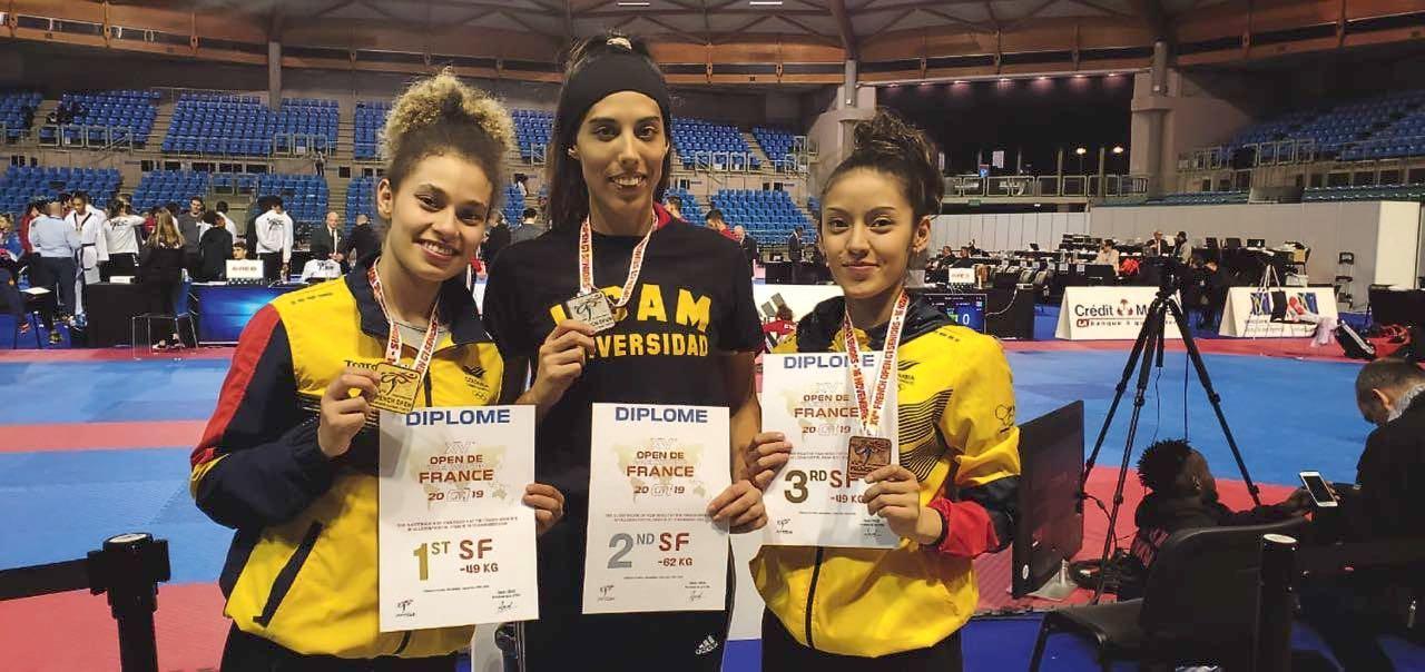 Andrea Ramírez y Camila Rodríguez se colgaron las medallas de oro y bronce en el último Open Olímpico.