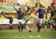 En el primer partido de los cuadrangulares semifinales, Real Cartagena perdió 0-1 ante Boyacá Chicó.