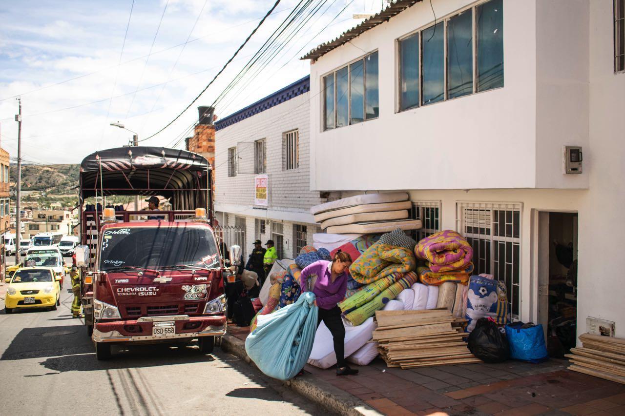 El lugar había sido adaptado por los arrendatarios como hogar de paso para la población venezolana.