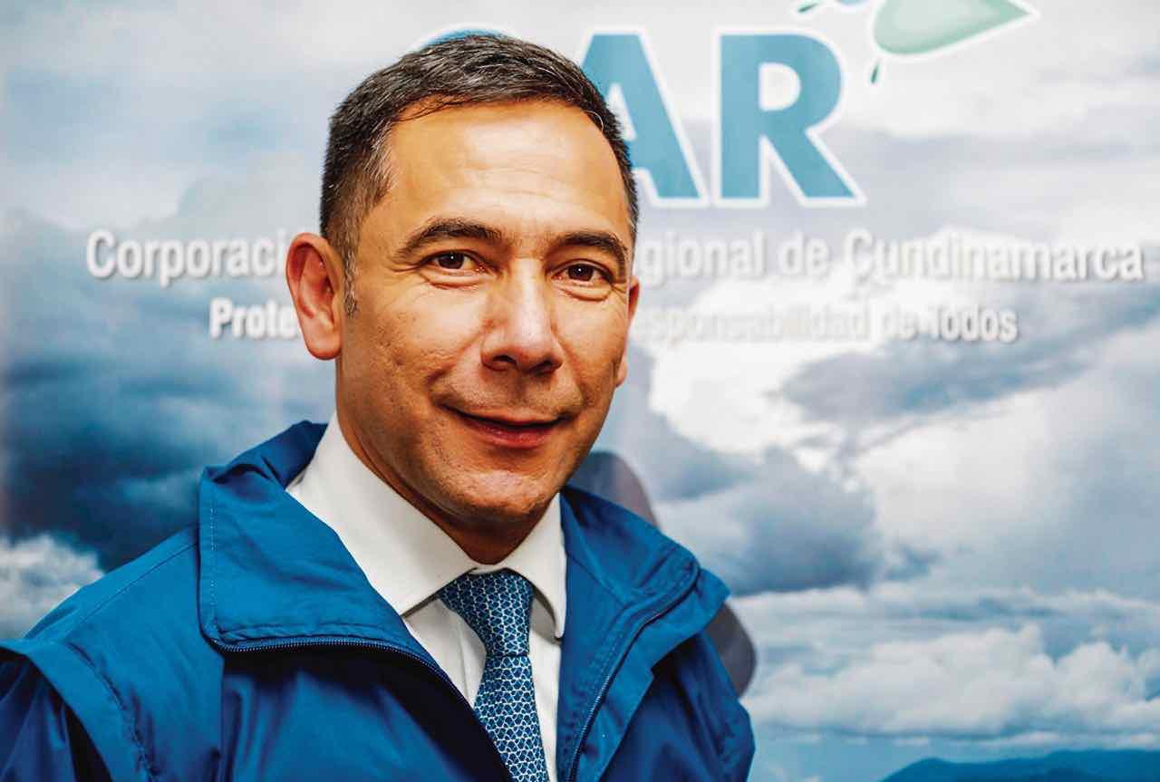 Desde el 2013 Luis Fernando Sanabria ha estado vinculado a la CAR