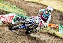 Germán David Borda se aseguró el tercer lugar en la categoría MX2 y 125 cc en el Nacional de Motocross