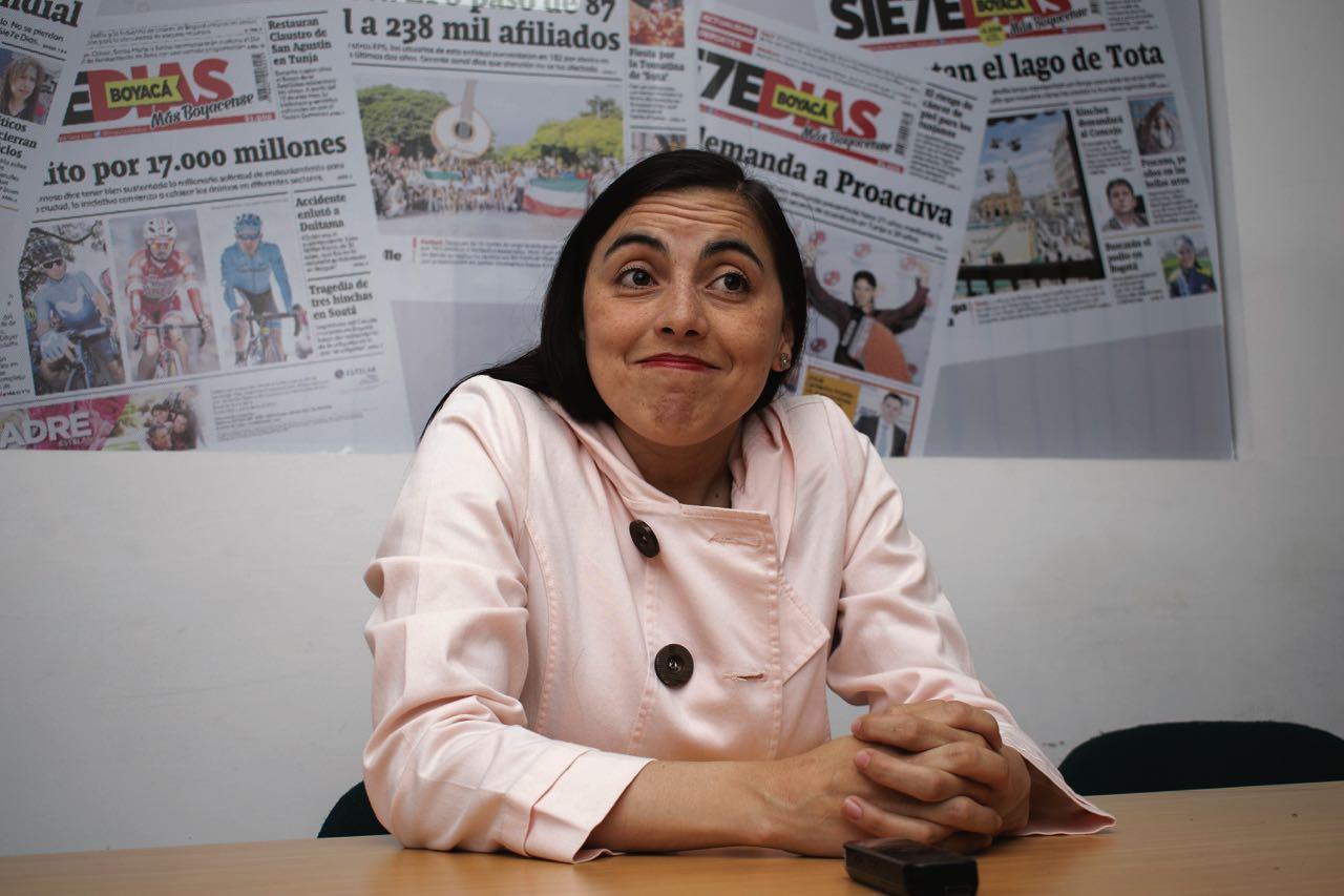 Por una demanda, la concejala electa de Tunja Karen Molano, no podría posesionarse en 2020