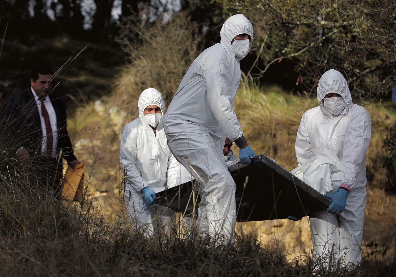 El cuerpo de Javier Fonseca Rodríguez fue encontrado cerca de la escuela de la vereda Marcura de Paipa, el sábado en la mañana.