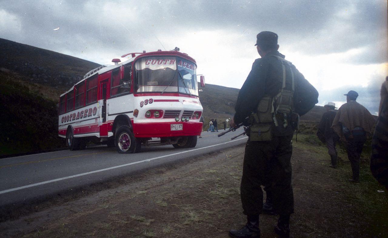 En este lugar, en el páramo de La Sarna, los paramilitares masacraron a 15 personas hace 18 años.