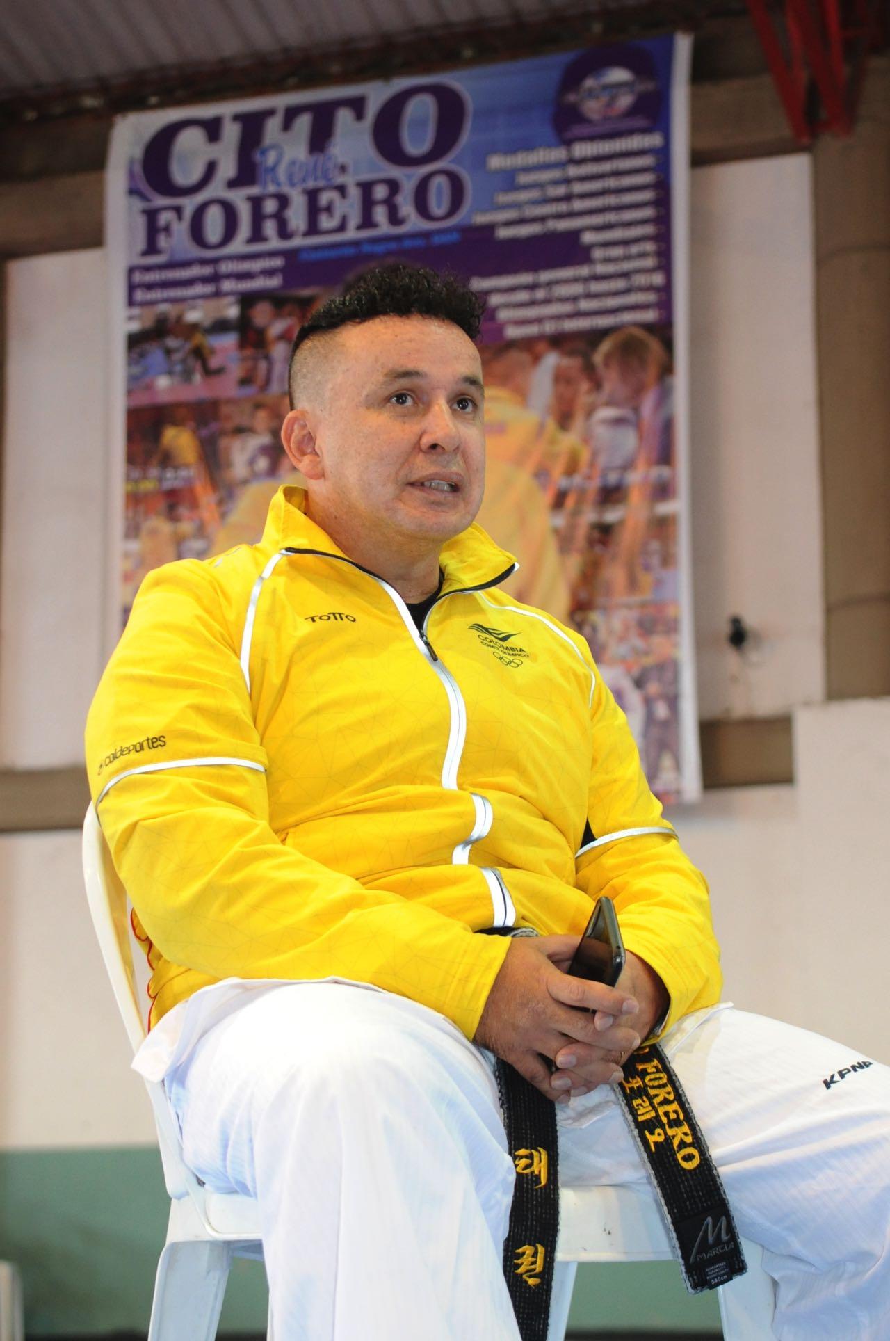 René Forero tiene a Boyacá en la cima del taekwondo 2
