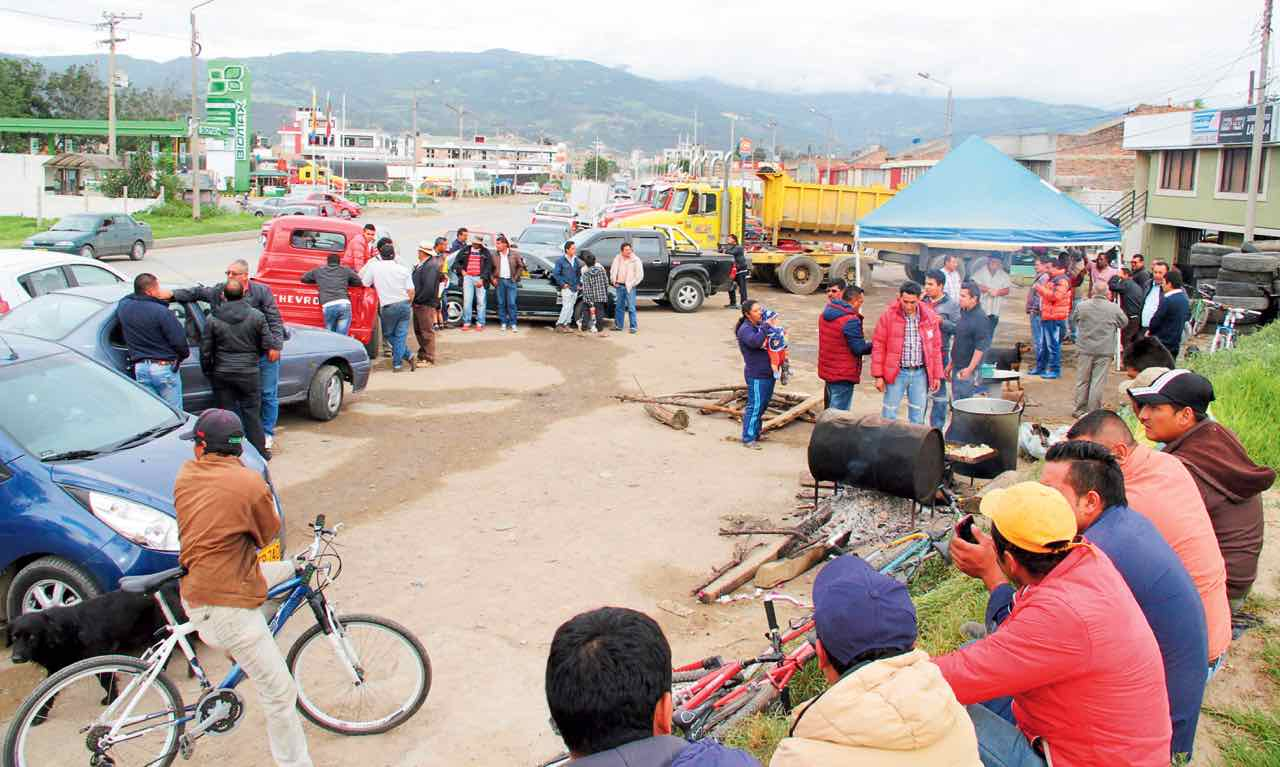 Varios sectores de Sogamoso anunciaron que cesarán sus actividades cotidianas mañana para unirse a la jornada de protesta.