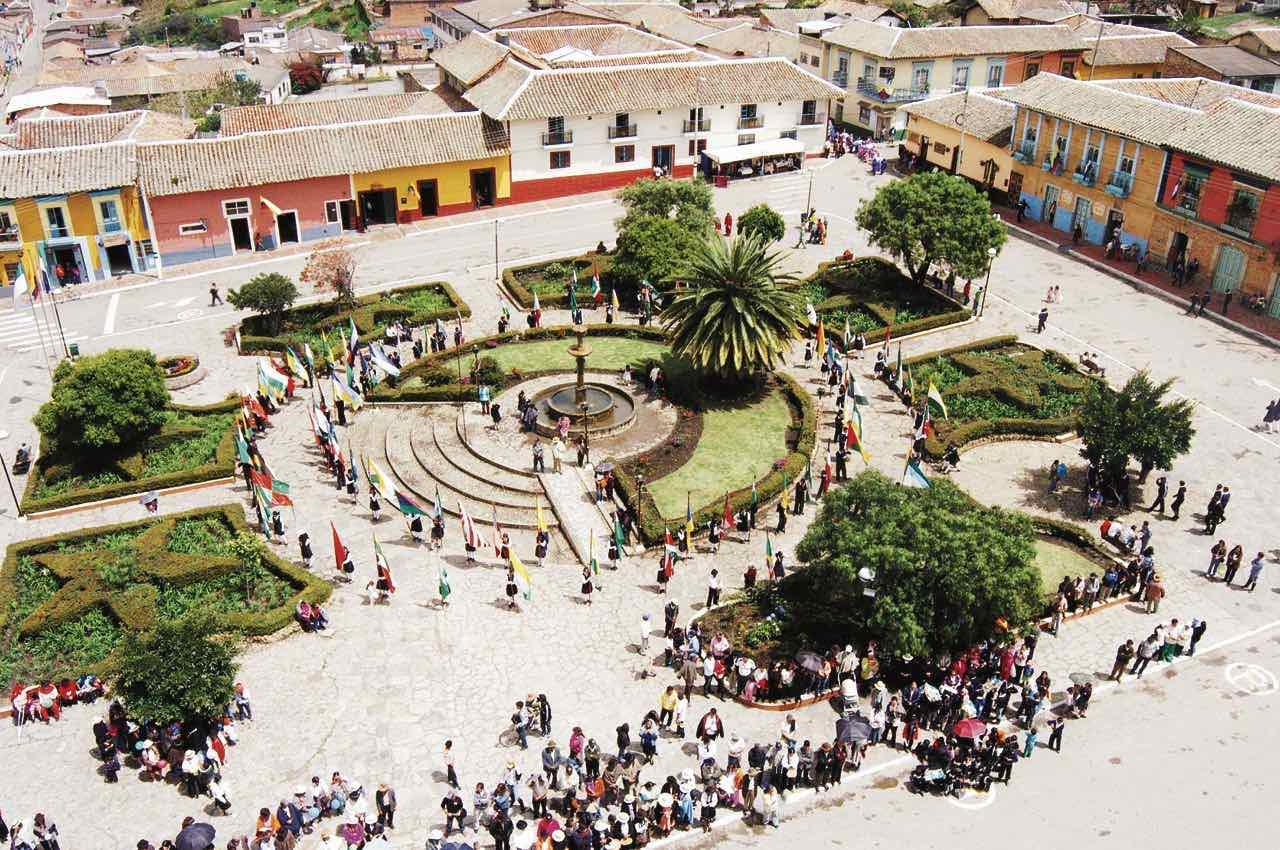 Durante las festividades, la mayoría de actividades se realizarán en el parque principal del municipio.