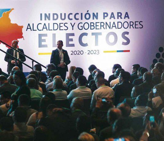 El presidente de la República, Iván Duque Márquez, durante la instalación de la cumbre de mandatarios