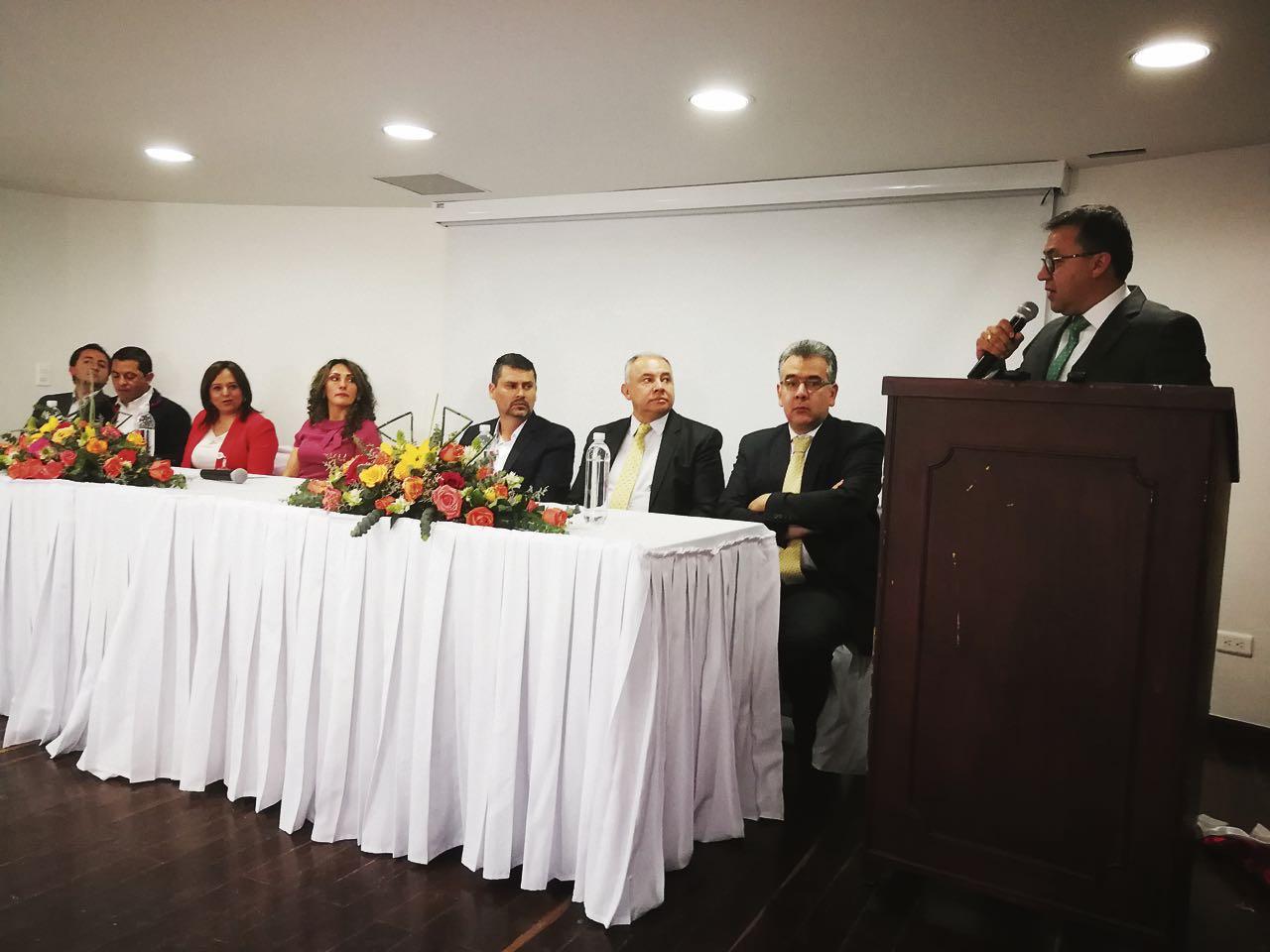 Primer discurso del alcalde electo de Sogamoso, Rigoberto Alfonso Pérez, ante los nuevos concejales