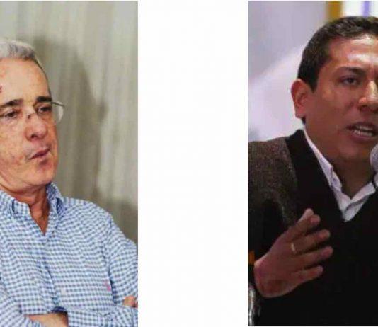 SEnador Uribe Vélez y Gobernador Amaya se escriben en redes sociales