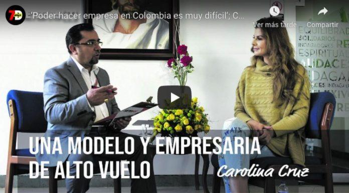 Entrevista Carolina Cruz