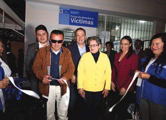 En el barrio Maldonado de Tunja se inauguró el nuevo Punto de Atención a Víctimas de Boyacá y ya entró en funcionamiento.