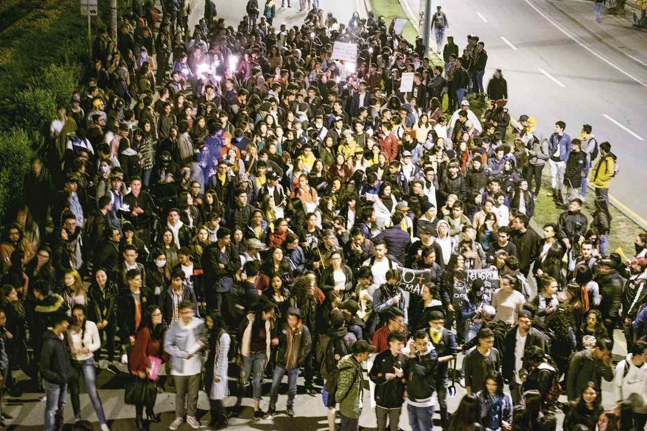 Desde el 21 de noviembre se han realizado varias movilizaciones en las ciudades principales de Boyacá.