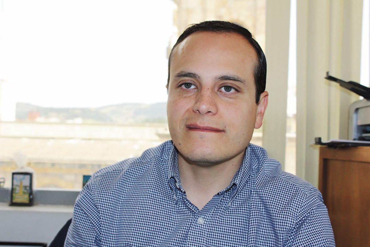 El secretario de Industria y Comercio de Duitama, Julián Hernández es el alcalde encargado hasta este sábado 14 de diciembre.