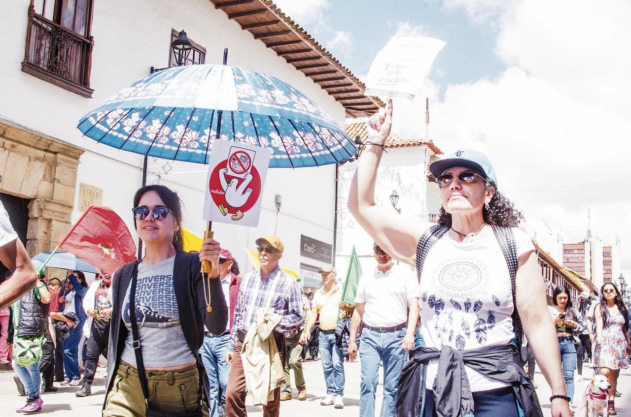 Cerca de 2.000 personas marcharon en cuatro ciudades del departamento durante la jornada nacional convocada por el Comité de Paro.