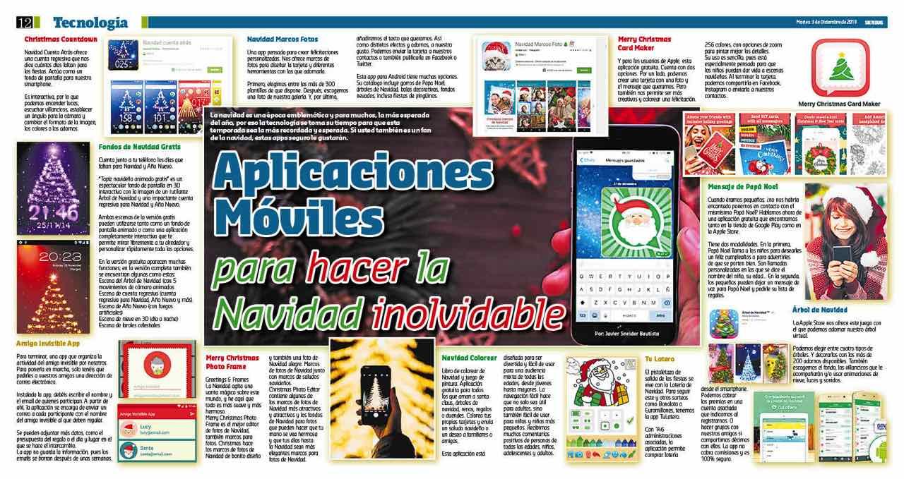 Especial Apps para navidad