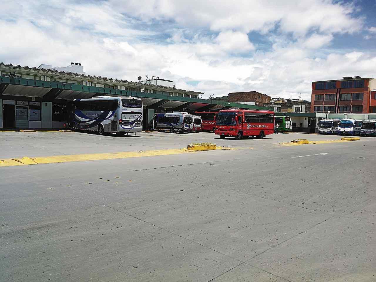 Terminal de Transportes de Sogamoso, entidad de la que son socios la Alcaldía, el Infiboy y Mintransporte.