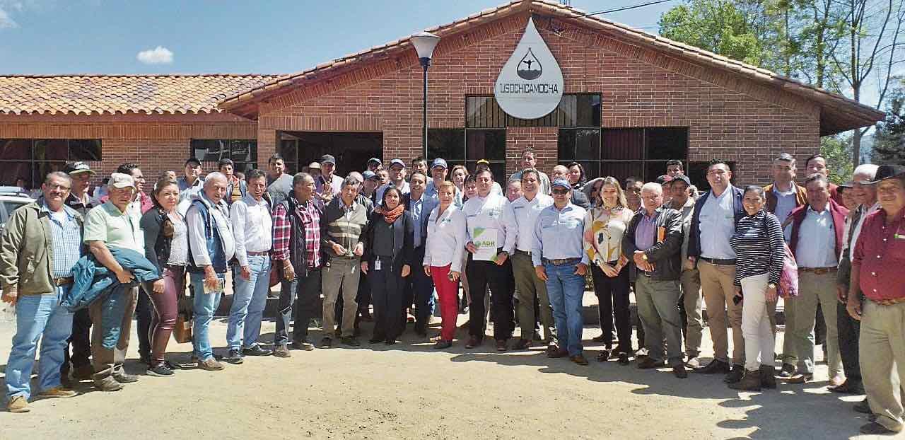 En la sede de Usochicamocha la ADR realizó un foro sobre el uso eficiente del agua en Distritos de Riego.