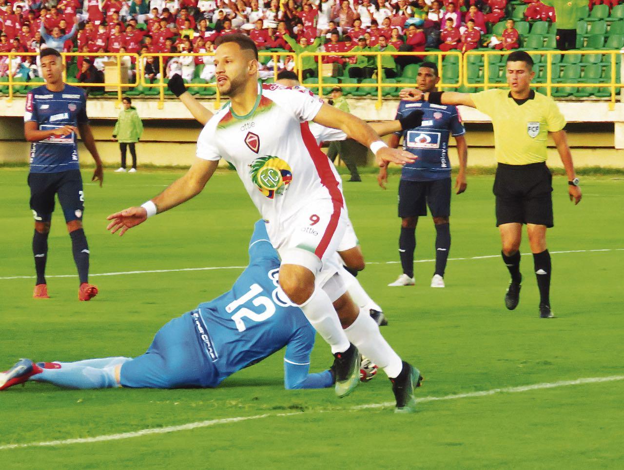 El atacante Brayan Fernández, quien marcó siete goles con Patriotas, jugará en 2020 con Rionegro Águilas.