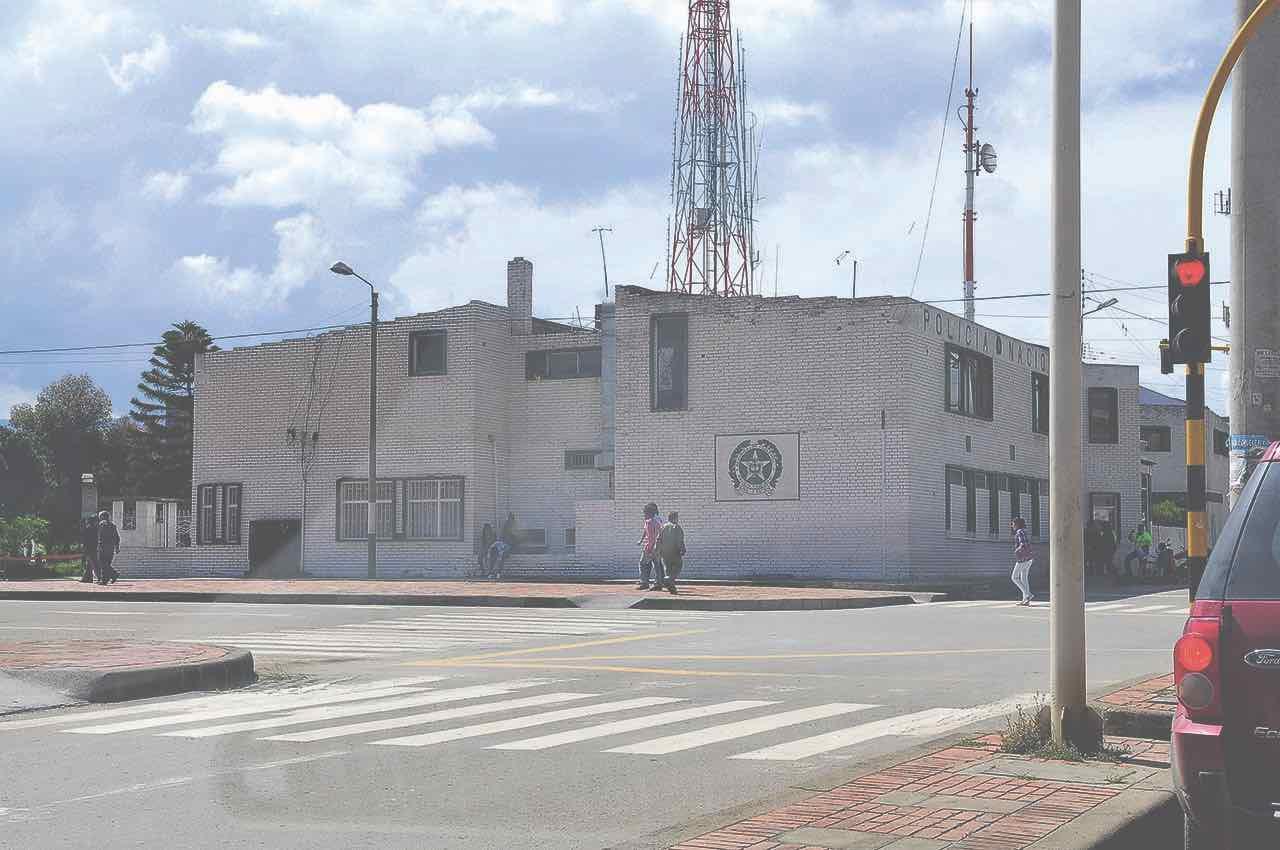 Instalaciones del comando del Segundo Distrito de Policía, edificación que se encuentra en lamentables condiciones. Se requiere nueva sede