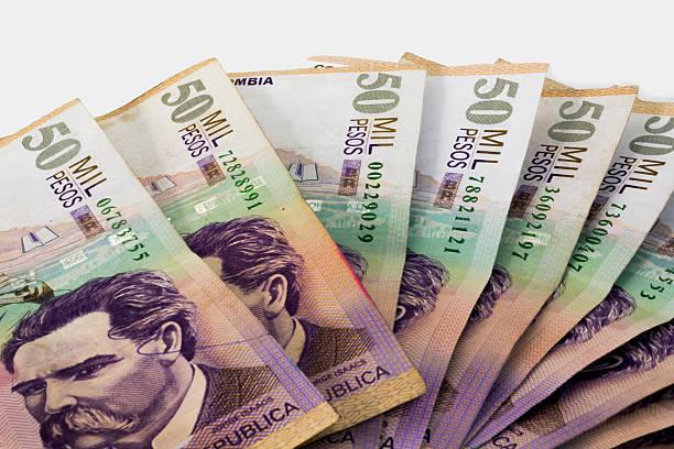 Billetes de 50 mil colombianos