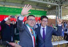 El alcalde, Rigoberto Alfonso, le solicitó apoyo al gobernador, Ramiro Barragán, para hospital de 3cer nivel