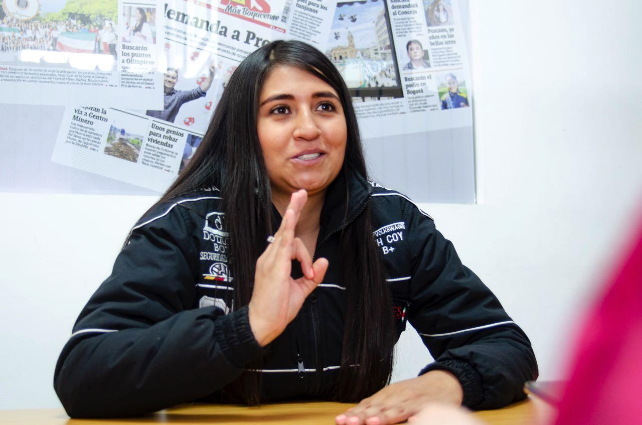 Además de participar en la TC 2.000 Colombia, la piloto boyacense Lizeth Coy Fula compite también en la Copa Cumbres.