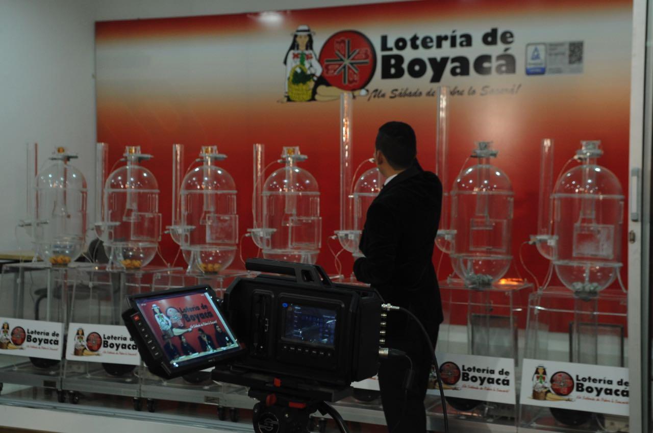 El mejor cuatrienio de la Loteria de Boyacá, cada semana vende más de $1.700 millones de pesos