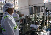 En la mañana de este 20 de diciembre arrancó la producción del aguardiente de la Nueva Licorera.