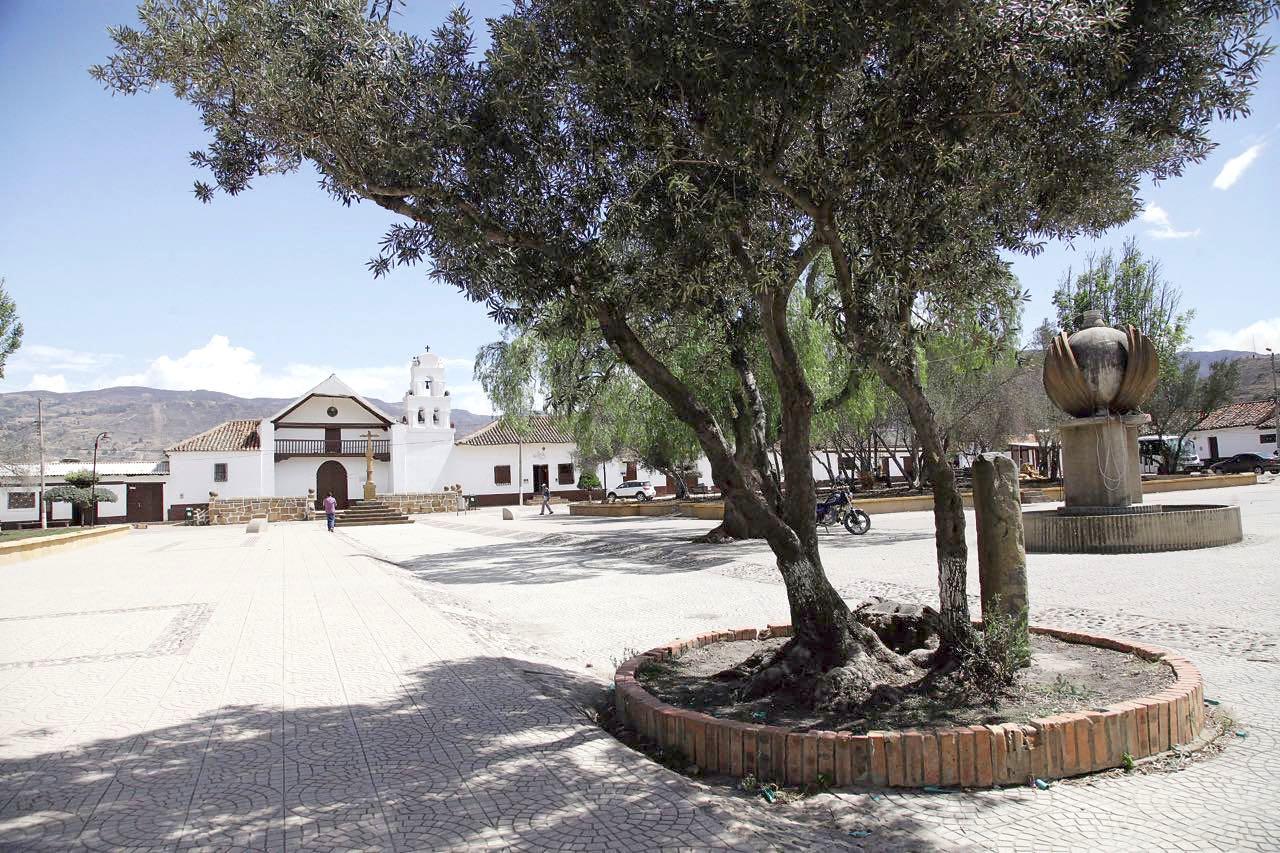 El Alto Ricaurte cuenta con un lugar de historia muisca.