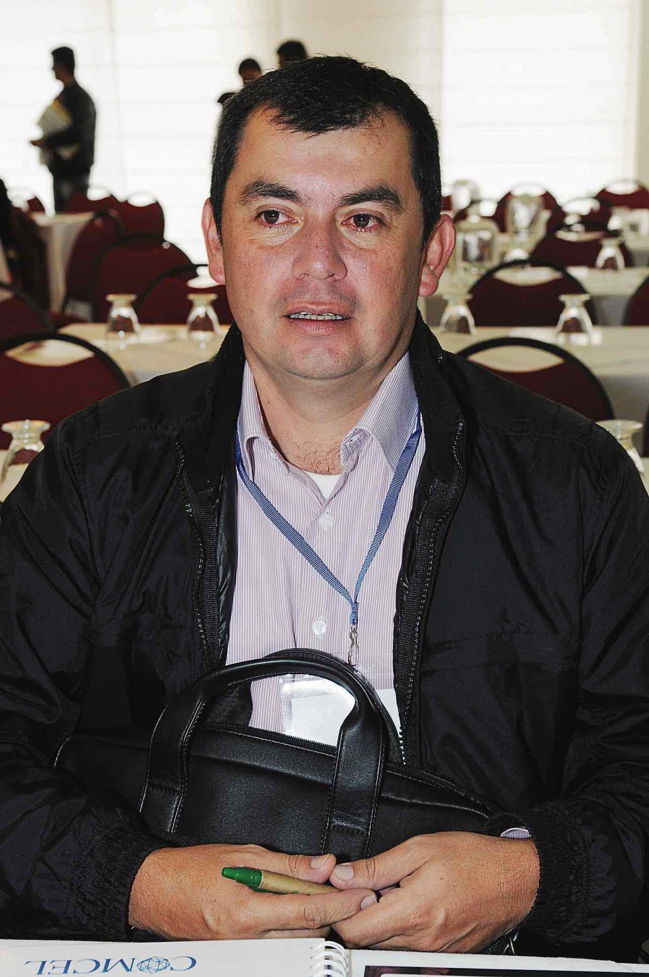 Plinio Rolando Forero D. Nuevo Director de Corpochivor