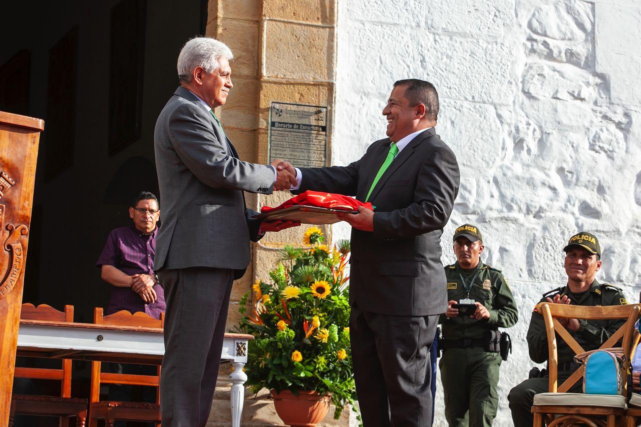 Una de las iniciativas del nuevo Alcalde de Villa de Leyva será la de recuperar los índices de inseguridad, de microtráfico, al igual que el de rescatar el orden de la ciudad, de la mano del comercio y las autoridades.