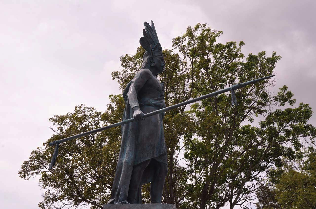 El Cacique Tundama fue derrotado en la conocida batalla del Pantano perdiendo cerca de 4000 soldados.
