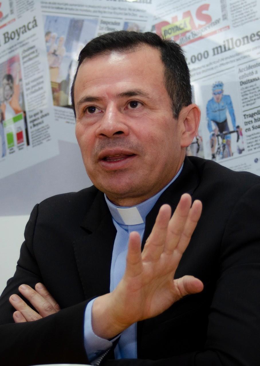 fraile Ferdinando Rodríguez, coordinador de la celebración de los 400 años.