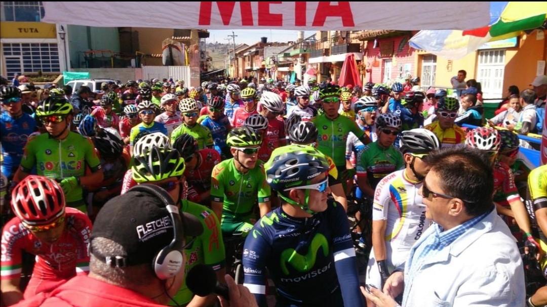 Inicia el calendario de Fedeciclismo en Boyacá con la tradicional competencia en el marco de las ferias y fiestas de Tuta 1