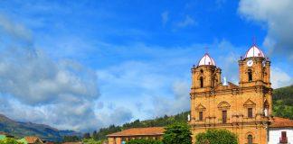 Parque principal de Mongua Boyacá